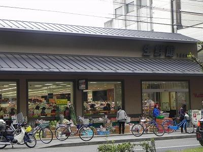 スーパー:生鮮館なかむら白川 1204m