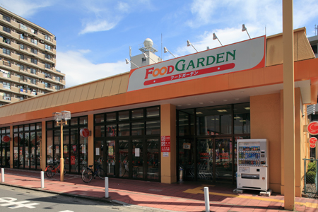 スーパー:FOOD GARDEN(フードガーデン) 櫛引店 465m