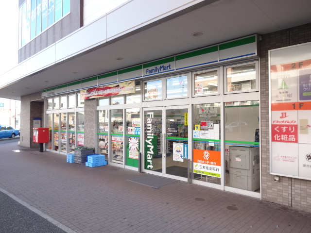コンビ二:ファミリーマート JR福工大前駅店 349m