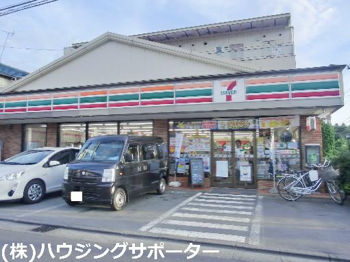 コンビ二:セブンイレブン 八王子犬目店 111m