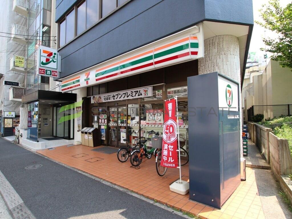 コンビ二:セブン-イレブン日本橋小網町店 48m