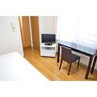 家具家電付で生活のしやすいお部屋