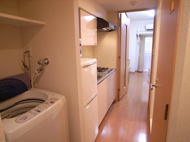 洗濯機・冷蔵庫等家具家電付きです