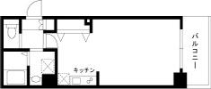 1R・ゆったりとした広いお部屋。