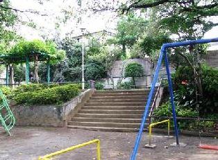 公園:自由が丘公園 350m