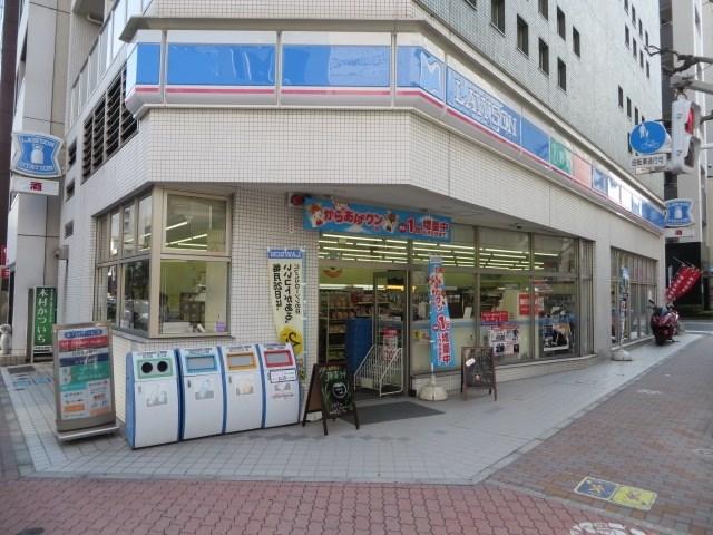 コンビ二:ローソン 新富一丁目店 34m