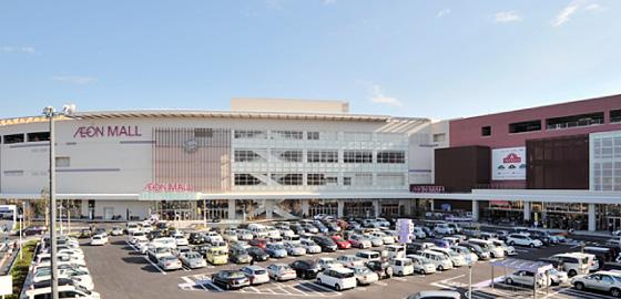 ショッピング施設:イオンモール筑紫野 2100m