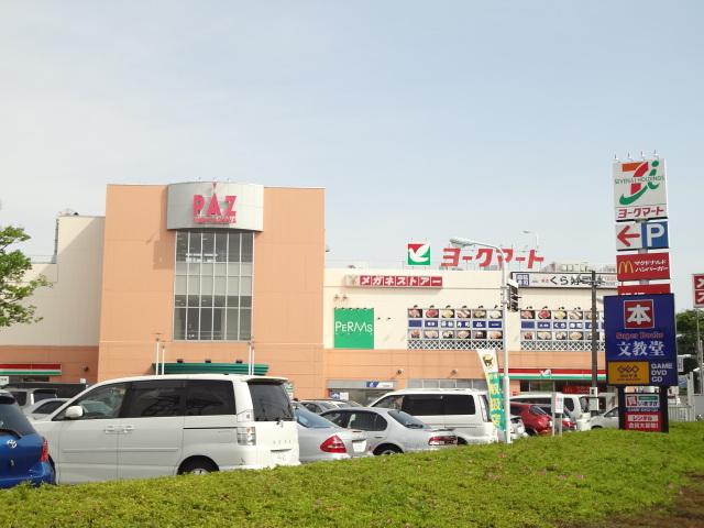 ショッピング施設:PAZ新柏 837m