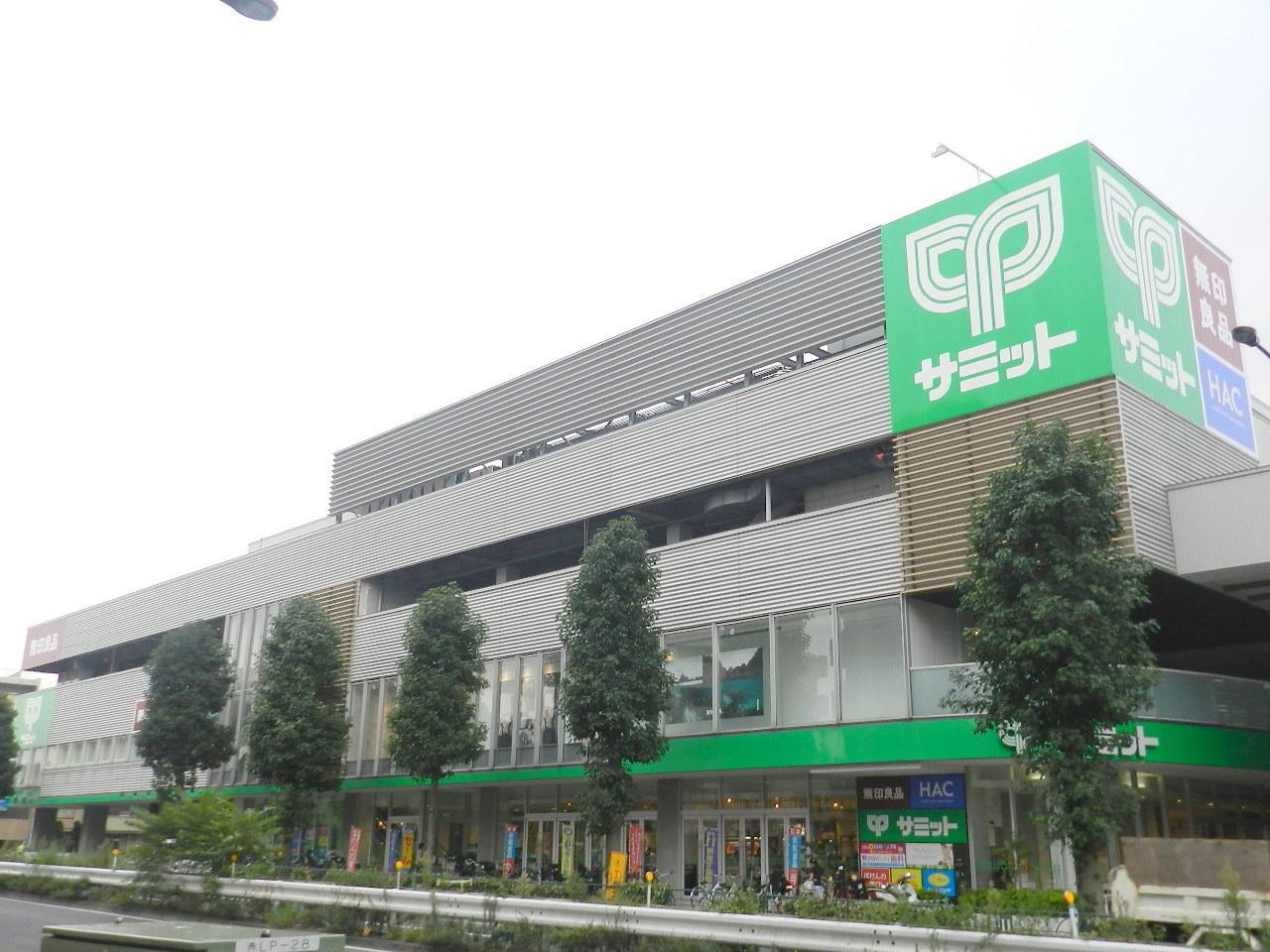 スーパー:サミットストア 砧環八通り店 445m