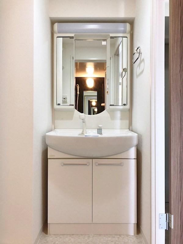 三面鏡シャワー付シャンプードレッサー