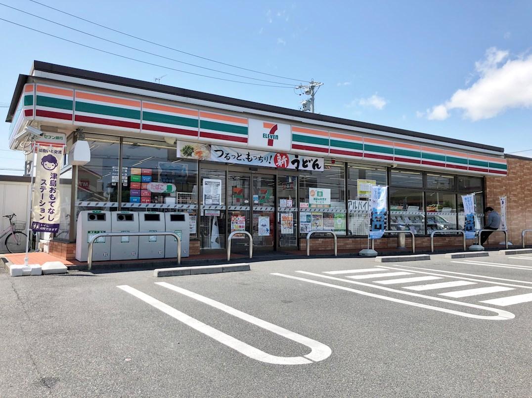 コンビ二:セブンイレブン津島橘町1丁目店 348m