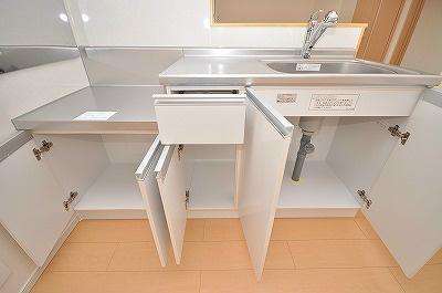 キッチン収納(下段)