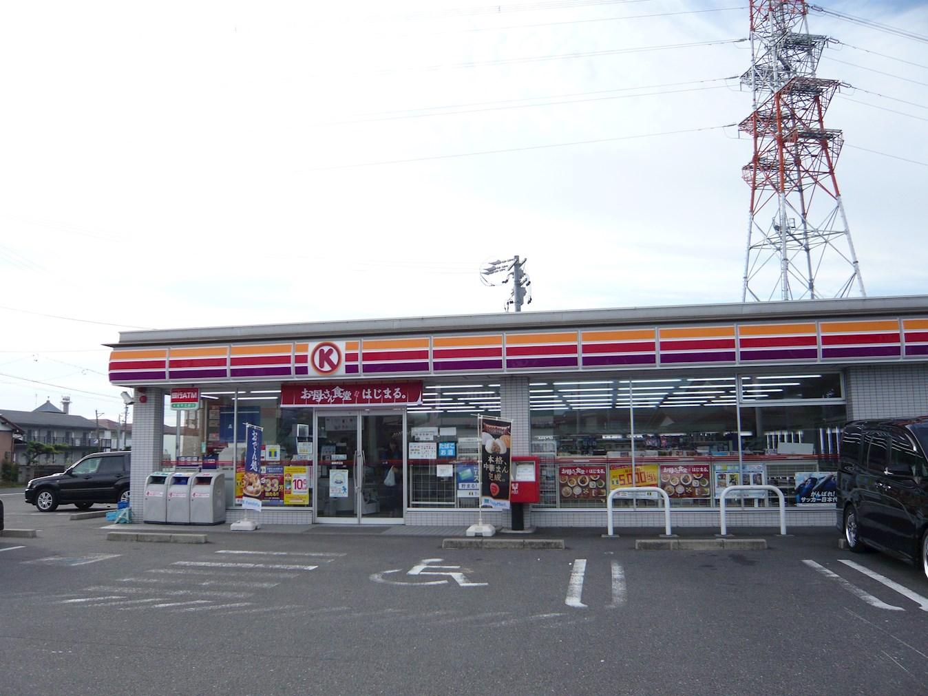 コンビ二:サークルK 岐阜折立店 142m