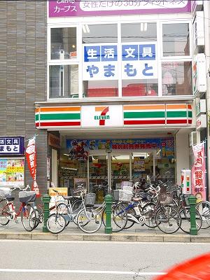 コンビ二:セブンイレブン 京都千本中立売店 495m