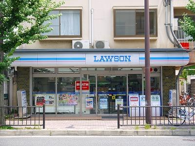 コンビ二:ローソン 鞍馬口店 263m