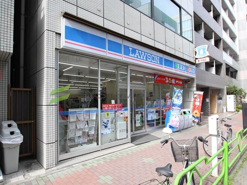 コンビ二:ローソン 東日本橋二丁目店 55m