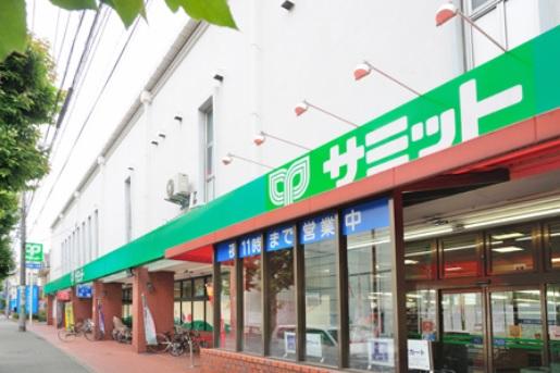 スーパー:サミットストア 桜店 614m