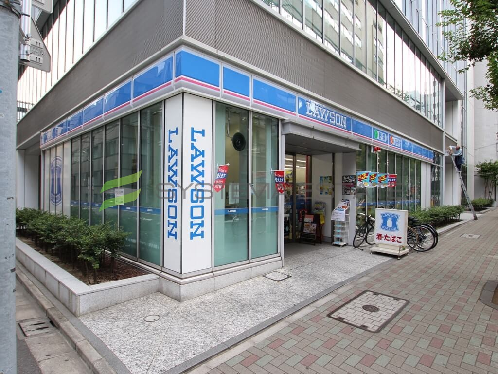 コンビ二:ローソン 日本橋蛎殻町一丁目店 81m