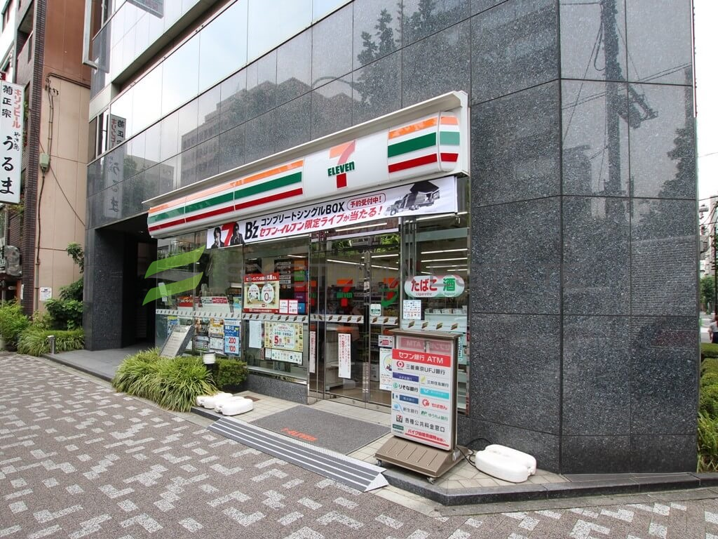 コンビ二:セブンイレブン 日本橋蛎殻町店 179m