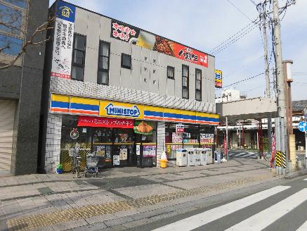 コンビ二:ミニストップ 豊川稲荷店 139m