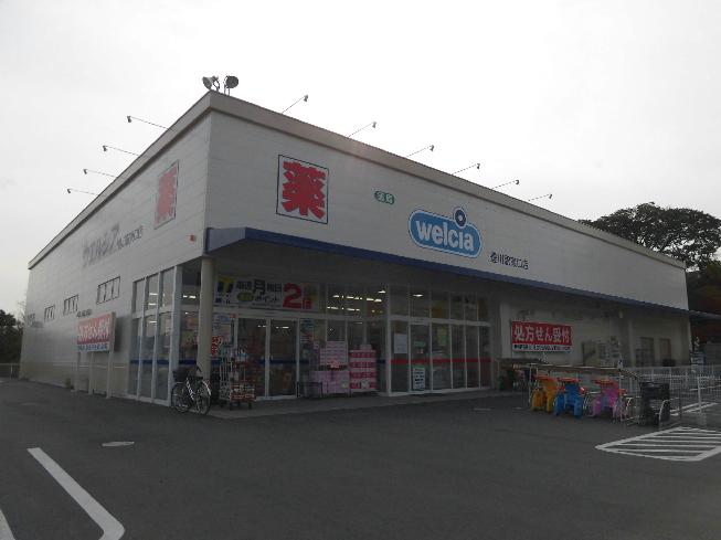 ドラッグストア:Welcia(ウエルシア) 豊川駅東口店 431m
