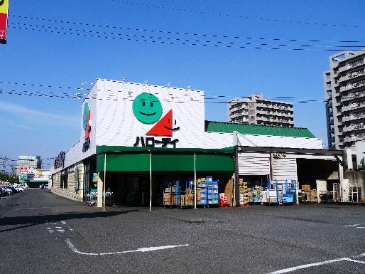 スーパー:HalloDay(ハローデイ) 若松店 735m 望む