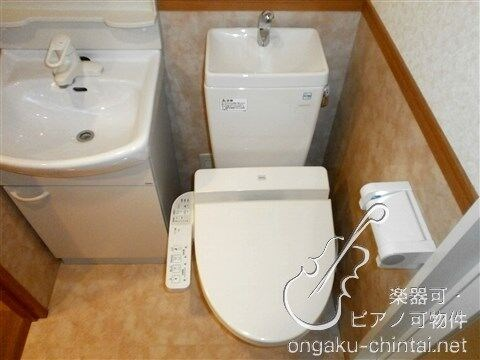 温水洗浄機能付