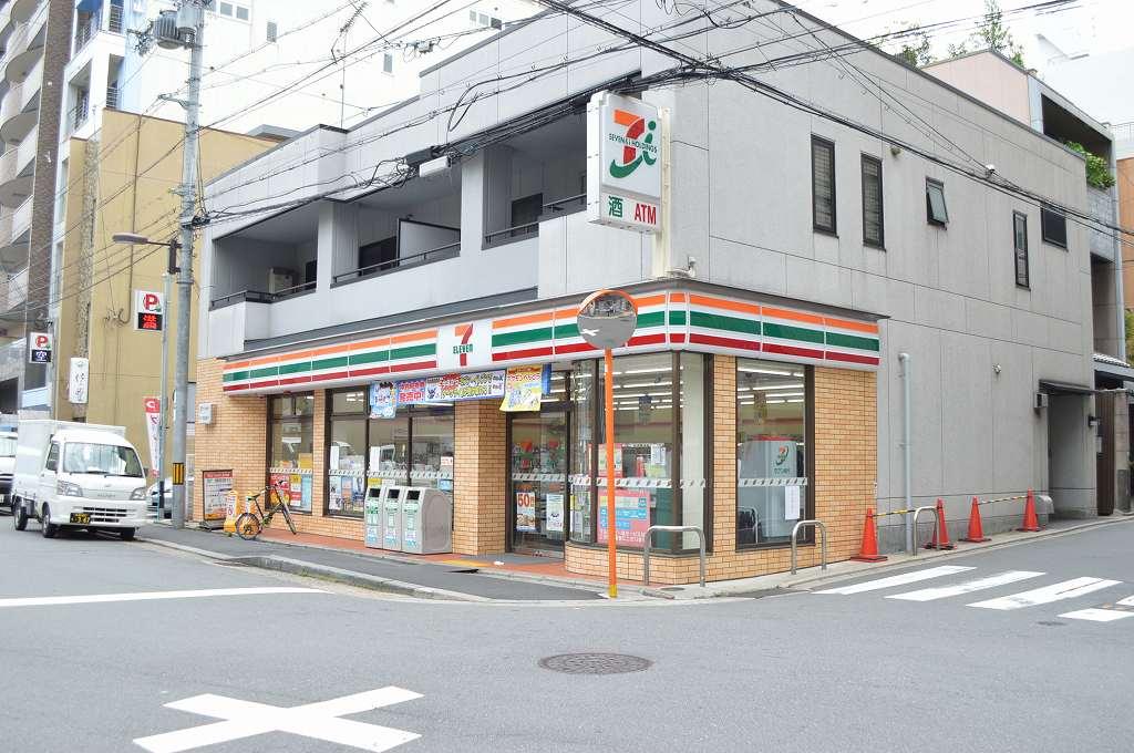 コンビ二:セブンイレブン 京都四条西洞院通り店 6m