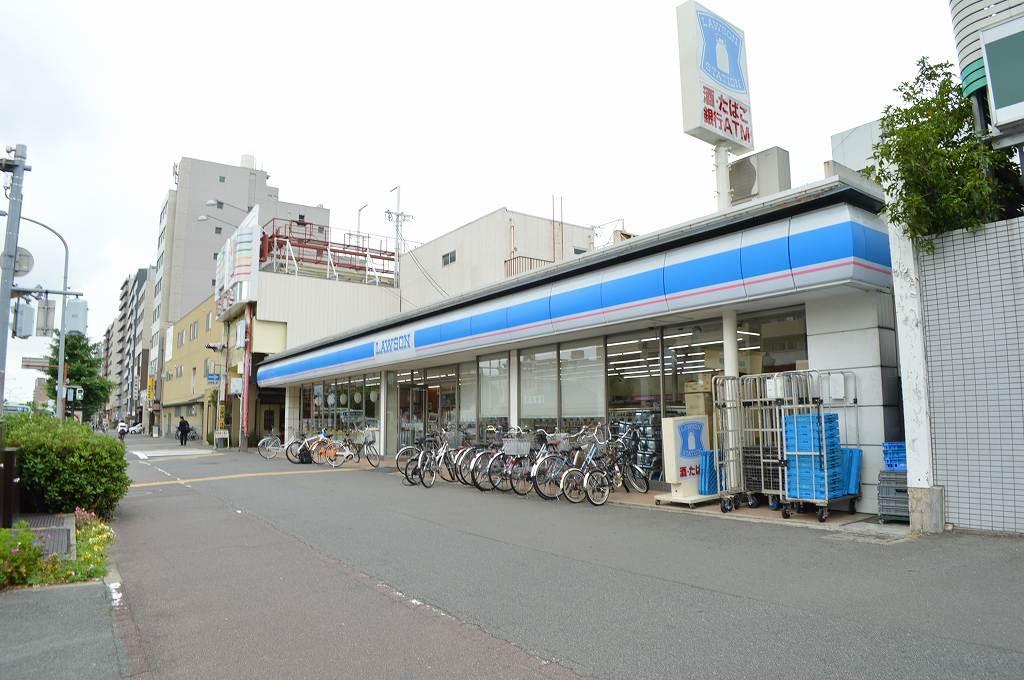 コンビ二:ローソン 三条堀川店 6m
