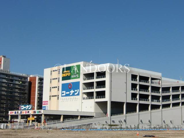 ホームセンター:ホームセンターコーナン 砂田橋店 432m