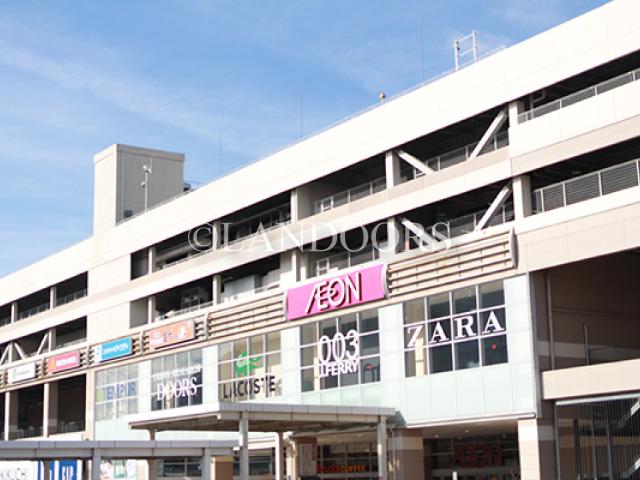 ショッピング施設:イオンモール ナゴヤドーム前 2195m