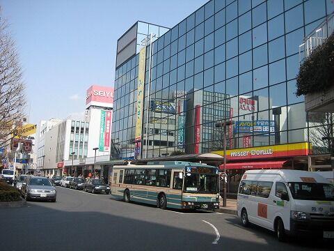 スーパー:西友 所沢駅前店 489m
