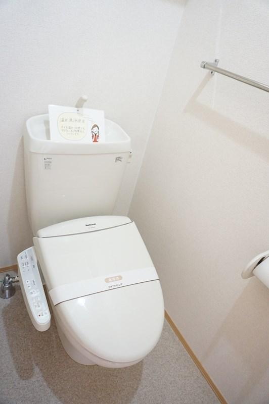 温水洗浄暖房便座つきトイレ