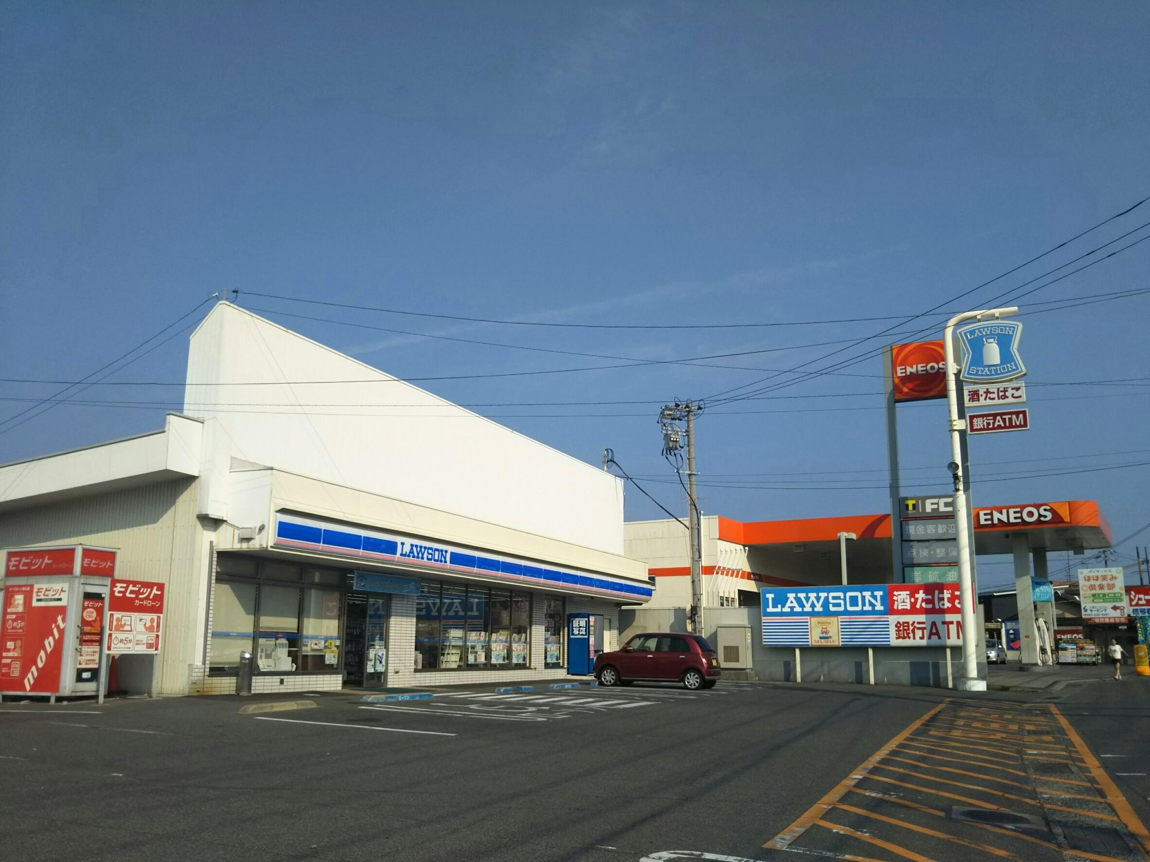 コンビ二:ローソン 下関稗田中町店 568m