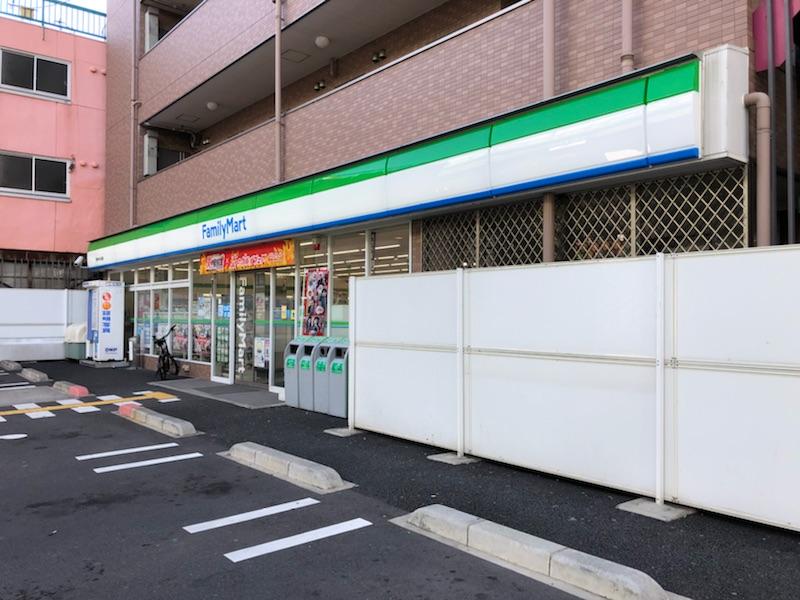コンビ二:ファミリーマート 東今里一丁目店 466m