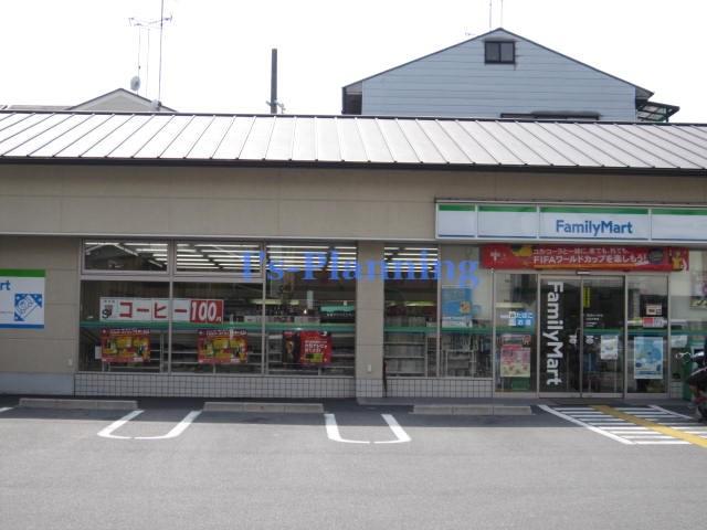 コンビ二:ファミリーマート 山科大塚店 600m 近隣