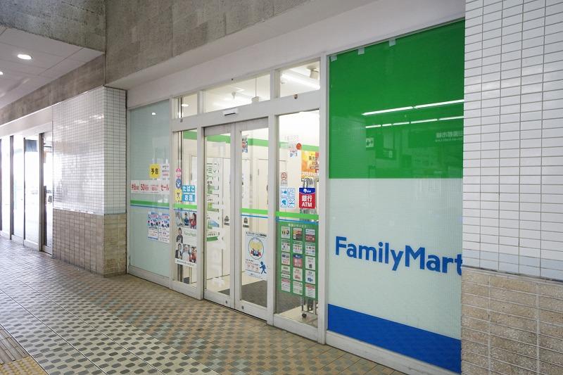 コンビ二:ファミリーマート 藤が丘駅南口店 434m
