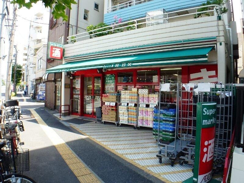 スーパー:まいばすけっと 江東扇橋3丁目店 579m