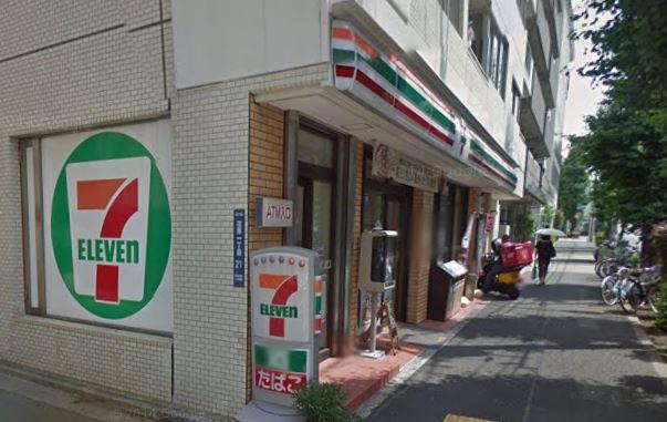 コンビ二:セブンイレブン 品川荏原店 135m