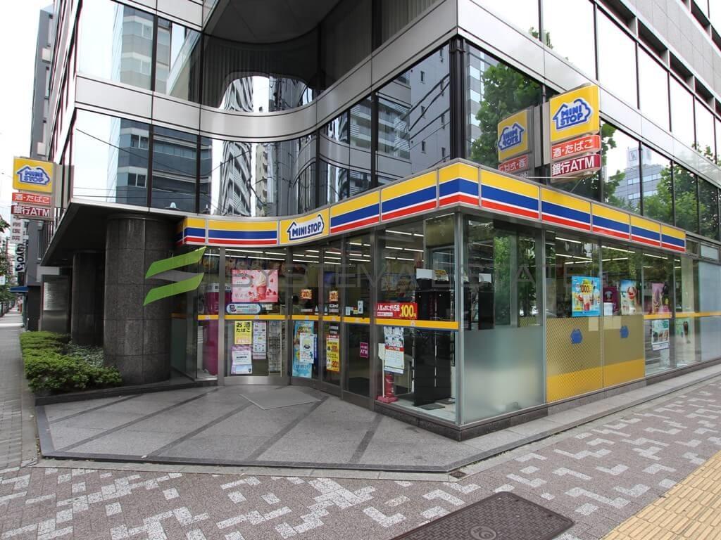 コンビ二:ミニストップ 日本橋蛎殻町店 129m
