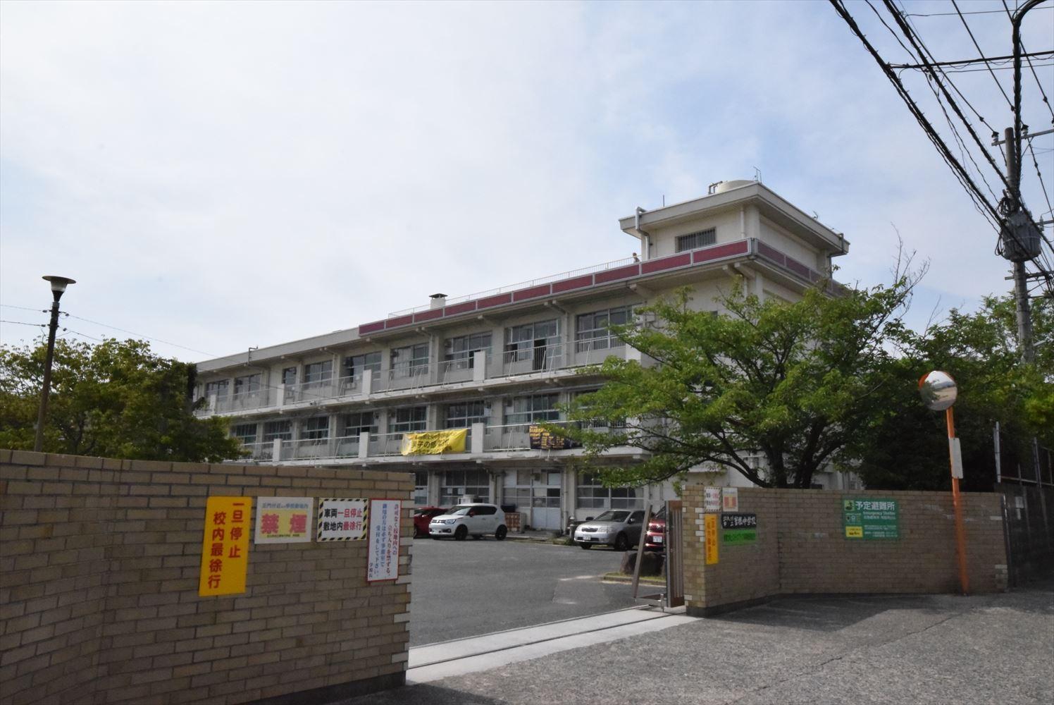 中学校:北九州市立曽根中学校 1000m