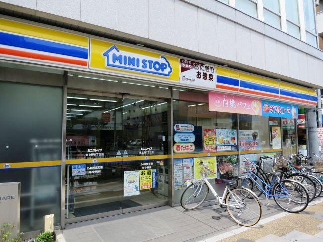 コンビ二:ミニストップ 東上野6丁目店 220m