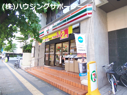 コンビ二:セブンイレブン 八王子桑並木通り店 411m
