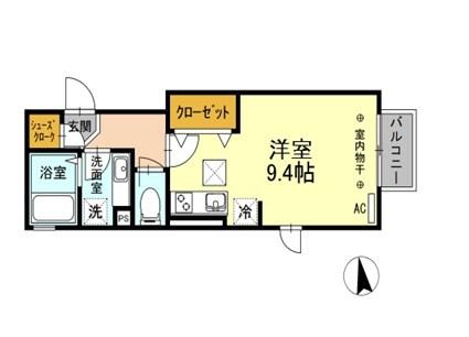 室内写真は202号室となります