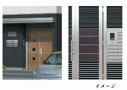 ■オートロック■ 安全とプライバシーをサポートしてくれるオートロックシステムで建物全体への侵入はもち