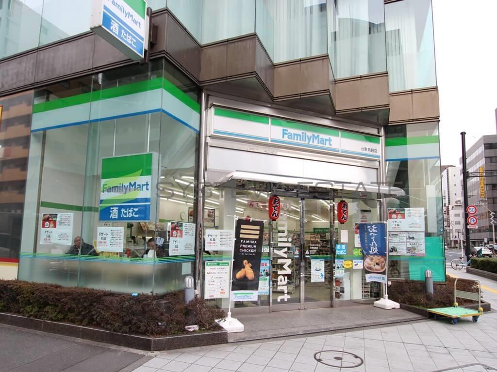 コンビ二:ファミリーマート 台東鳥越店 265m