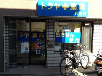 ドラッグストア:トラヤ薬局代田店 339m