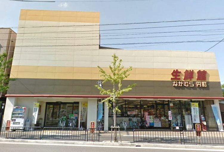 スーパー:生鮮館なかむら円町店 307m
