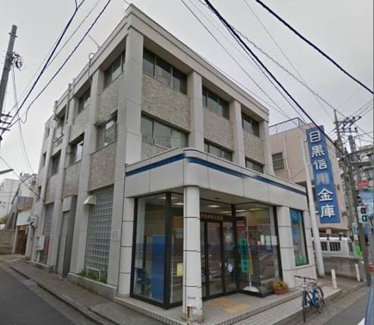 銀行:目黒信用金庫梅丘支店 623m