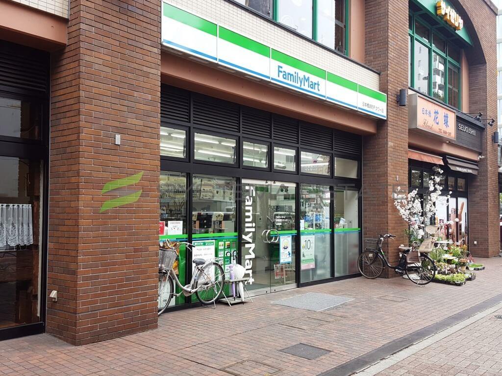 コンビ二:ファミリーマート 日本橋浜町Fタワー店 185m